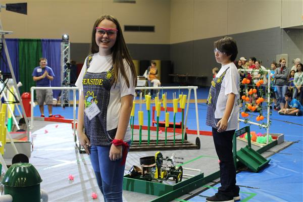 SNS Travels to BEST Robotics Competition