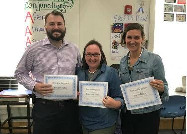 3 Teachers win Best & Brightest Scholarships